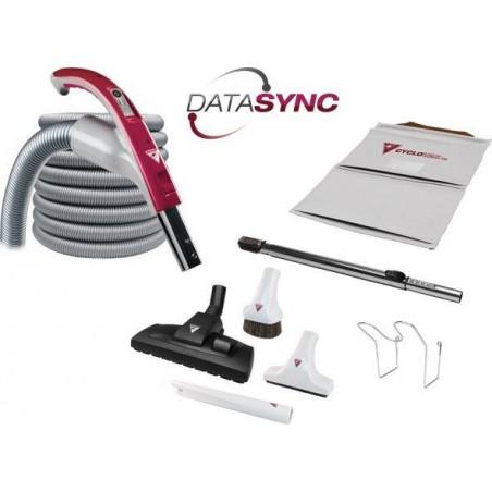 Zestaw DataSync z wężem Cyclo Vac