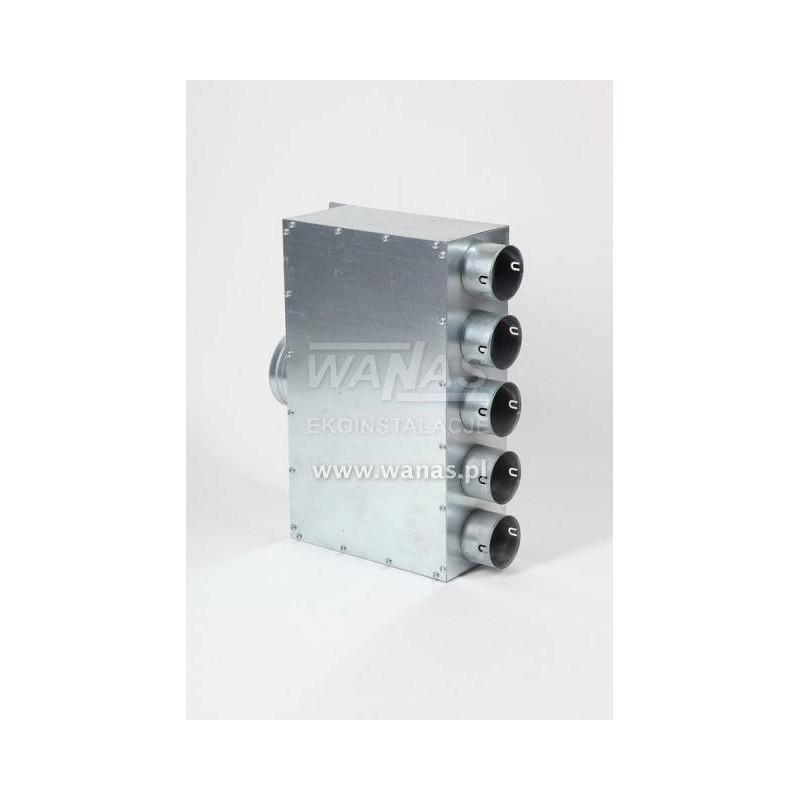 Rozdzielacz 5x75/125 izolowany