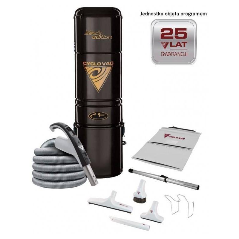 Odkurzacz Centrlany H615 Black Edition + zestaw 9m