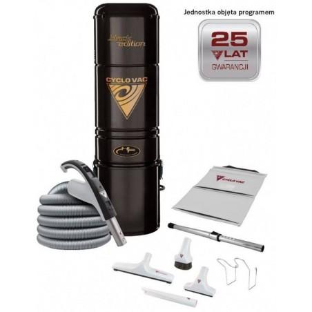 Odkurzacz centralny H615 Black Edition + zestaw 7,5m