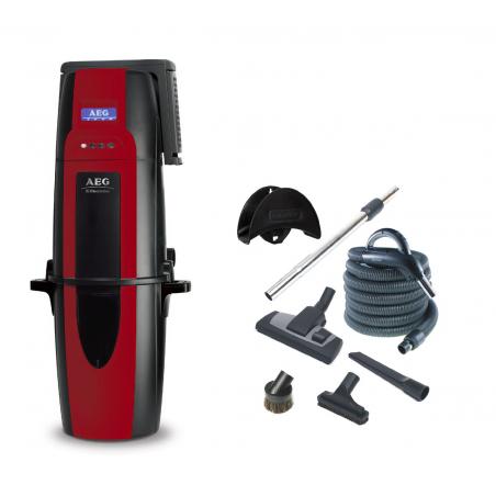 ODKURZACZ CENTRALNY Electrolux AEG870 + zestaw do sprząatania Progression