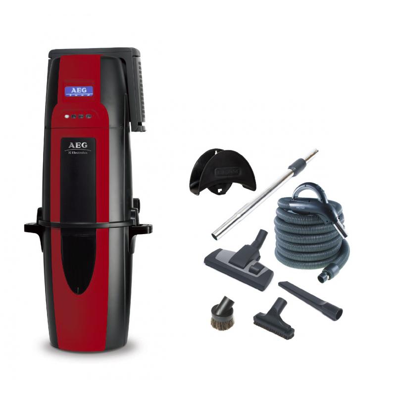 ODKURZACZ CENTRALNY Electrolux AEG262 + zestaw do sprzątania Progression