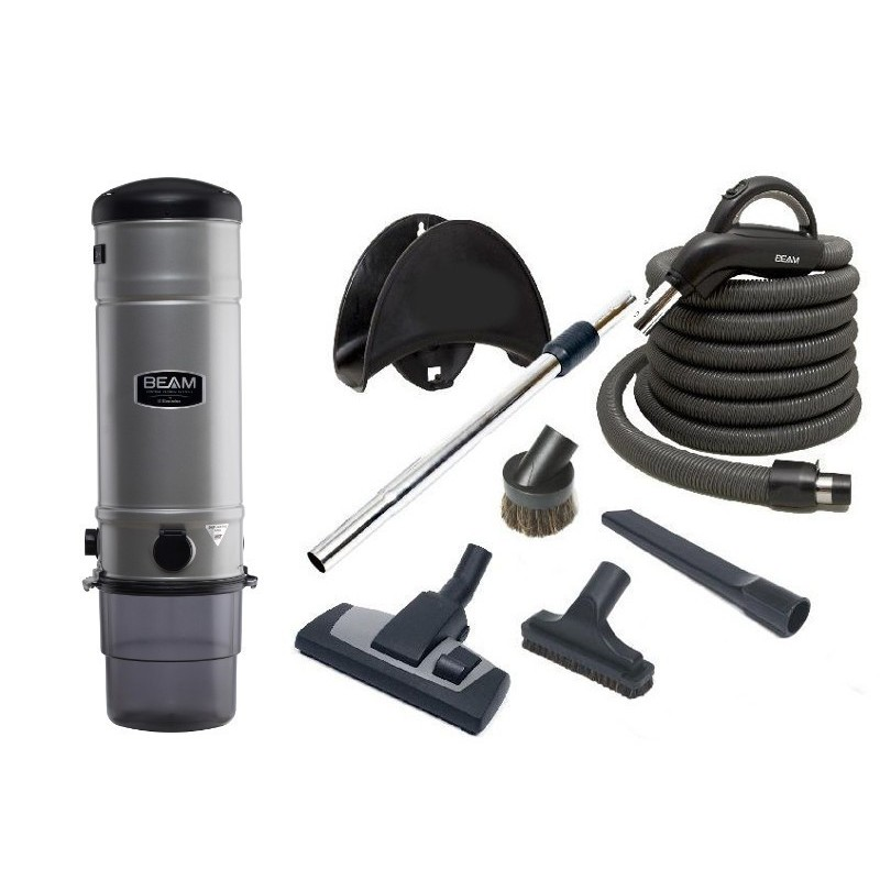 Central vacuum cleaner Platinum BEAM SC385 +  NEXE Cleaning Set 9m