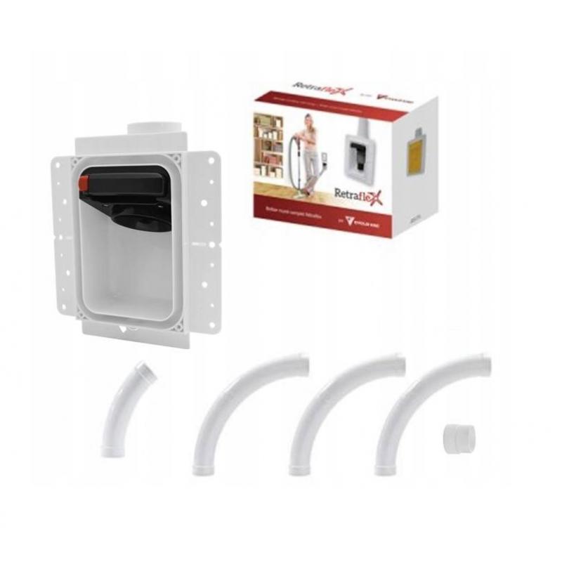 Retraflex Dose leicht zu installieren