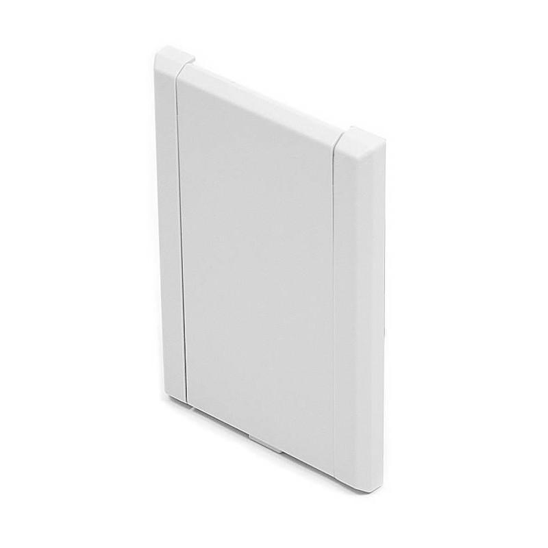 Gniazdo plastikowe LUX, białe