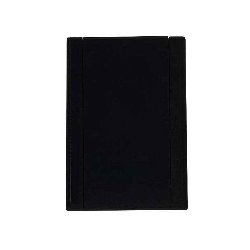 Gniazdo plastikowe LUX, czarne